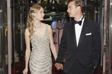 Beatrice Borromeo Pierre Casiraghi Rose Ball 2015 In Aid Of The Princess Grace Foundation In Monaco