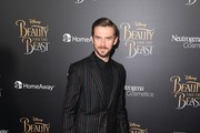 Actor Dan Stevens attends the New York special screening of Disney's live-action adaptation 'Beauty and the Beast' at Alice Tully Hall on March 13, 2017 in New York City. / AFP PHOTO / ANGELA WEISS