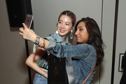 Irene Kim meets fans during Beautycon Festival NYC 2018 - Day 1 at Jacob Javits Center on April 21, 2018 in New York City.