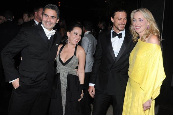 amfAR's 2nd Annual Inspiration Gala Sao Paulo [amfar,suit,event,formal wear,fashion,tuxedo,fun,premiere,little black dress,dress,smile,2nd annual inspiration gala sao paulo,sao paulo,home,brazil,sharon stone,bebel gilberto felipe diniz marcus,dinho diniz]