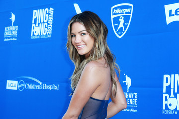 Becca Tilley Clayton Kershaw's 5th Annual Ping Pong 4 Purpose Celebrity Tournament