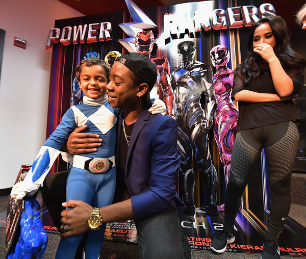 'Power Rangers' Star Becky G and RJ Cyler Attend a Fan Event at Y100