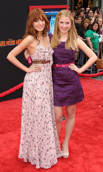 "Bella Thorne and Caroline Sunshine - Premiere Of Walt Disney Pictures' ""Mars Needs Moms"" - Arrivals"