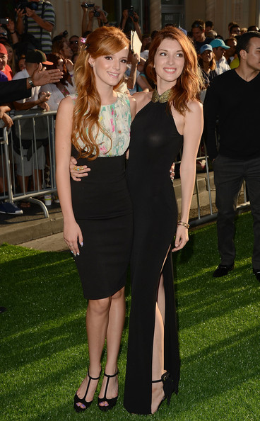 Bella Thorne and Dani Thorne - Premiere Of Walt Disney Pictures'