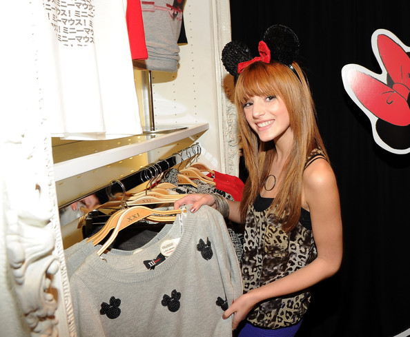 Bella Thorne - Forever 21 VIP Event With Minnie Mouse And Guests