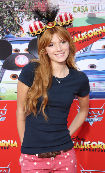 "Bella Thorne - Grand Opening Of ""Cars Land"" At Disneyland Resort"