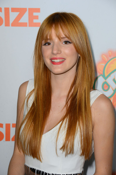 """Bella Thorne - Premiere Of Paramount Pictures' """"Fun Size"""" - Arrivals"""