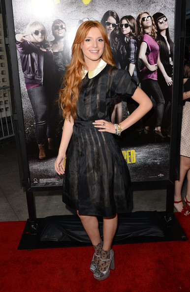 "Bella Thorne - Premiere Of Universal Pictures And Gold Circle Films' ""Pitch Perfect"" - Arrivals"