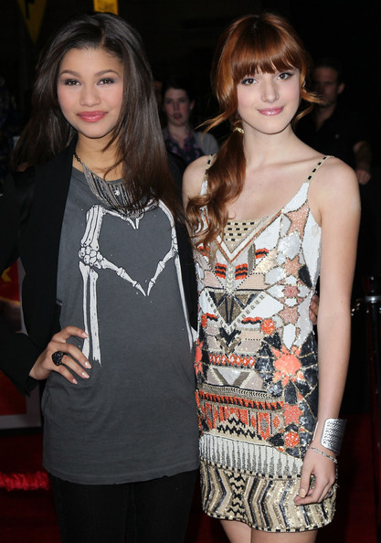 "Zendaya Coleman and Bella Thorne - Premiere Of Walt Disney Pictures' ""John Carter"" - Arrivals"