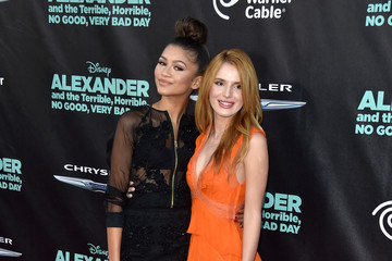 Bella Thorne Zendaya Coleman 'Alexander and the Terrible, Horrible, No Good, Very Bad Day' Premiere — Part 2