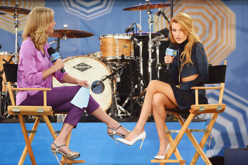 Bella Thorne Celebs Stop by 'GMA'