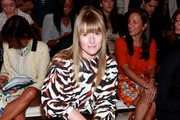 Teen Vogue editor-in-chief Amy Astley attends Belstaff Spring 2013 at the IAC Headquarters on September 10, 2012 in New York City.