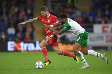 Ben Davies Wales v Ireland - UEFA Nations League B