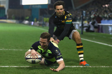 Ben Foden Northampton Saints v Leinster Rugby - European Rugby Champions Cup