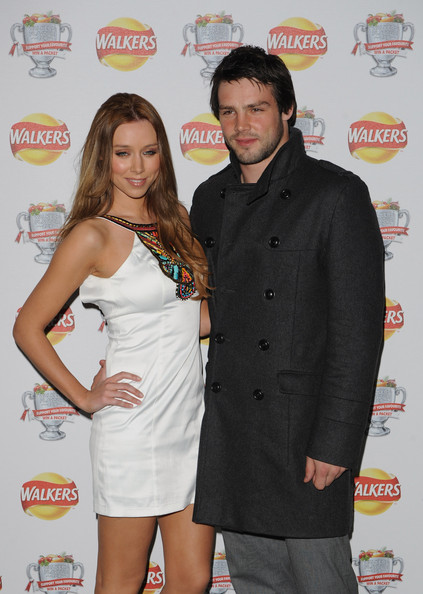 Una Healy and Ben Foden - Walkers - Campaign Launch Arrivals