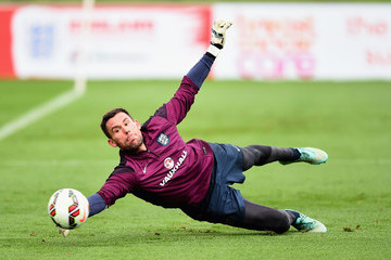 Ben Foster England Training Session