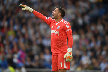 Ben Foster Brighton and Hove Albion v West Bromwich Albion - Premier League