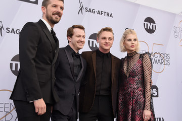 Ben Hardy Gwilym Lee 25th Annual Screen ActorsGuild Awards - Red Carpet