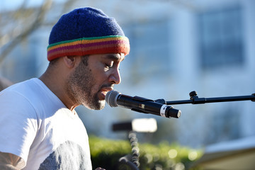 Ben Harper United Voices Rally