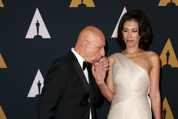 Ben Kingsley Daniela Lavender Academy of Motion Picture Arts and Sciences' 8th Annual Governors Awards - Arrivals