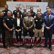 Ben Lee Prince Harry And Meghan Markle Attend The 'Endeavour Fund Awards' Ceremony
