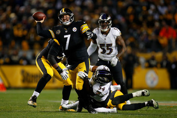 Ben Roethlisberger Baltimore Ravens v Pittsburgh Steelers