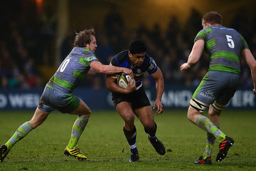 Ben Tapuai Bath v Newcastle Falcons - Anglo-Welsh Cup
