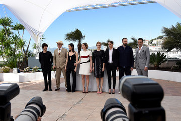 Ben Whishaw Ariane Labed 'The Lobster' Photocall - The 68th Annual Cannes Film Festival