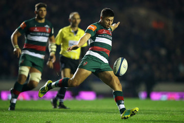 Ben Youngs Leicester Tigers v Scarlets - Heineken Champions Cup