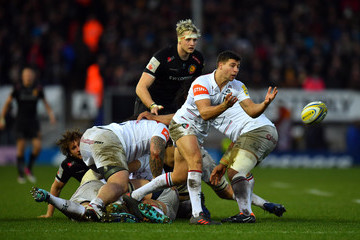 Ben Youngs Exeter Chiefs v Leicester Tigers - Aviva Premiership
