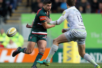 Ben Youngs Leicester Tigers v Saracens - Aviva Premiership