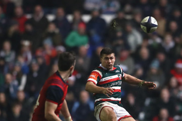 Ben Youngs Leicester Tigers v Munster Rugby - European Rugby Champions Cup