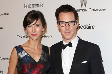 Benedict Cumberbatch Weinstein Company and Netflix Golden Globes Party