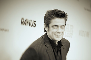 Benicio Del Toro Premiere of RADiUS And The Weinstein Company's 'Escobar: Paradise Lost' - Arrivals
