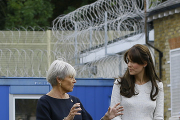 Benita Refson Duchess of Cambridge Visits Rehabilitation of Addicted Prisoners Trust at HMP Send