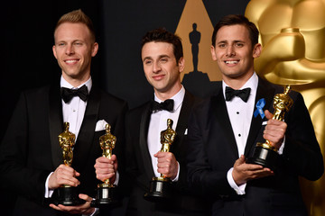 Benj Pasek 89th Annual Academy Awards - Press Room