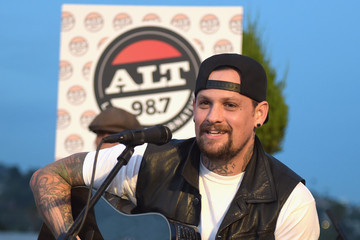 Benji Madden The Madden Brothers Perform At 98.7 FM's Penthouse Party Pad