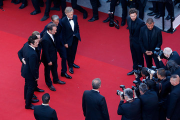 Benoit Magimel 70th Anniversary Red Carpet Arrivals - The 70th Annual Cannes Film Festival