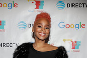 Anika Noni Rose attends the second annual Cocktails and Conversation event presented by the Bentonville Film Festival and Google at the DirecTV Lodge presented by AT&T during Sundance Film Festival 2018 on January 20, 2018 in Park City, Utah.