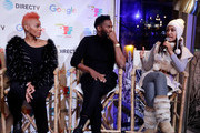 Anika Noni Rose (L-R) Colman Domingo and Janina Gavankar speak at the second annual Cocktails and Conversation event presented by the Bentonville Film Festival and Google at the DirecTV Lodge presented by AT&T during Sundance Film Festival 2018 on January 20, 2018 in Park City, Utah.