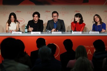 Berenice Bejo Stacy Martin 'Redoubtable (Le Redoutable)' Press Conference  - The 70th Annual Cannes Film Festival