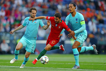 Bernardo Silva Portugal v Netherlands - UEFA Nations League Final