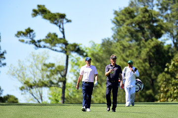 Bernhard Langer The Masters - Preview Day 2
