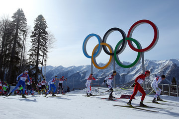 Bernhard Tritscher Cross-Country Skiing - Winter Olympics Day 16