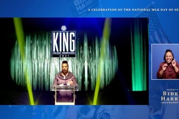 "Bernice King ""United We Serve"" A Celebration Of The National MLK Day Of Service"