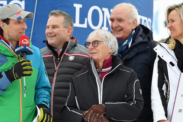 Bernie Ecclestone KitzCharityTrophy at Hahnenkamm Race in Kitzbuehel