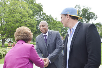 Bernie Williams Chad Smith Congress Pushed for Music Education