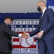 Bernie Williams 2021 National Baseball Hall of Fame Induction Ceremony