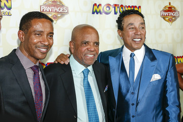 Berry Gordy Smokey Robinson Berry Gordy, Motown Legends And More Celebrate 'Motown the Musical' at Hollywood Pantages Theatre