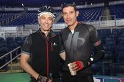 Daniel Ribeiro and George Hincapie participates in Best Buddies Challenge: Miami on November 21, 2014 in Miami, Florida.
